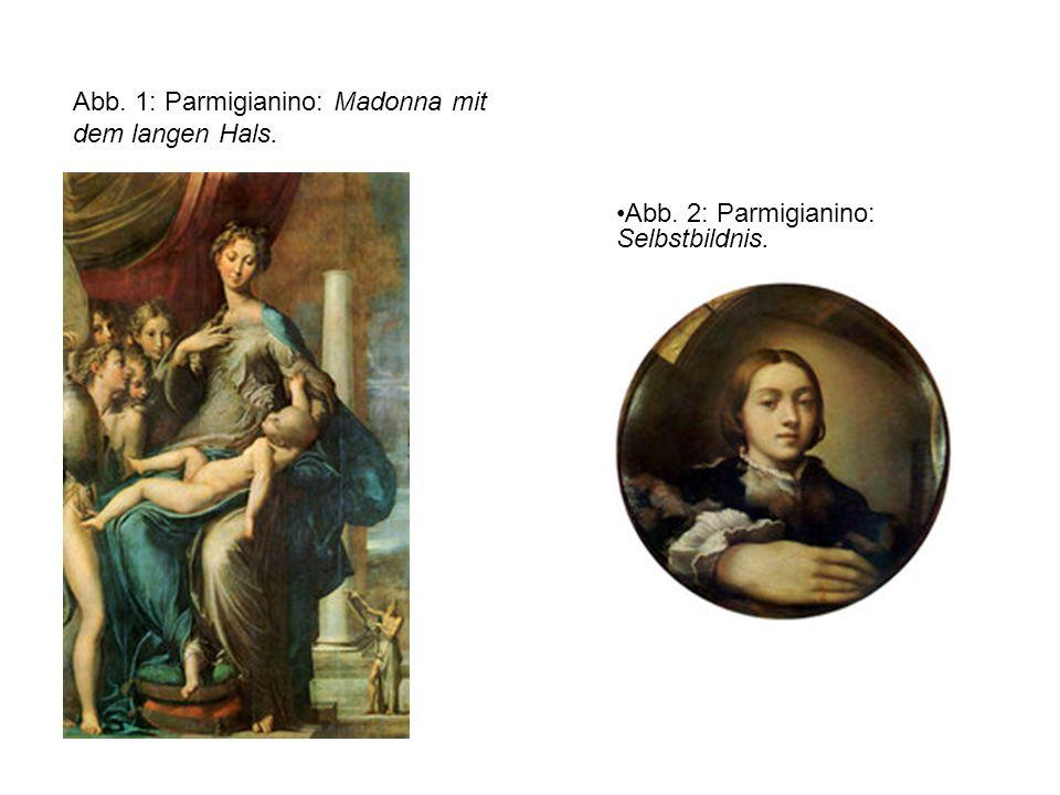 Abb. 1: Parmigianino: Madonna mit dem langen Hals.