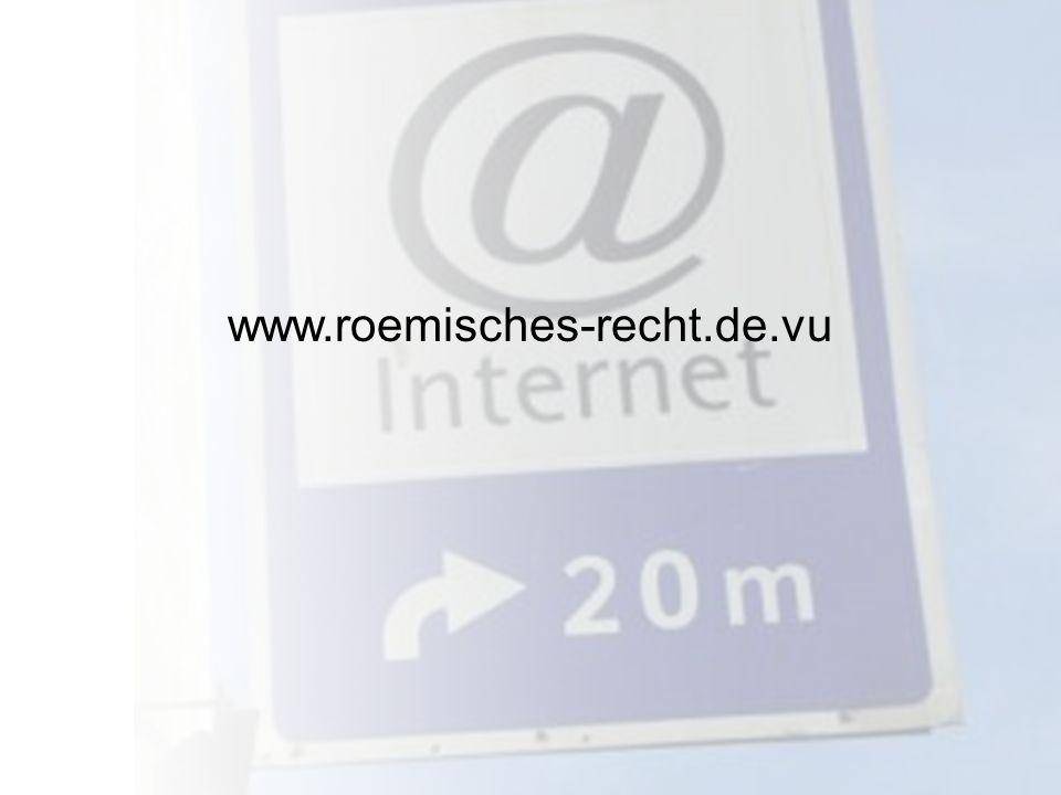 www.roemisches-recht.de.vu