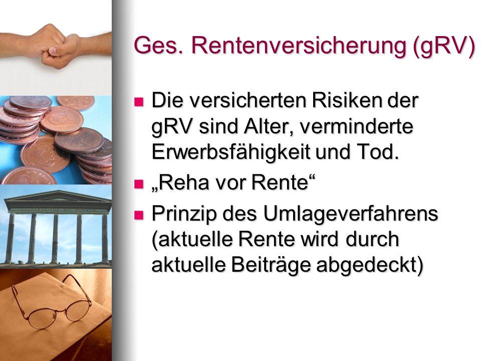 Ges. Rentenversicherung (gRV)