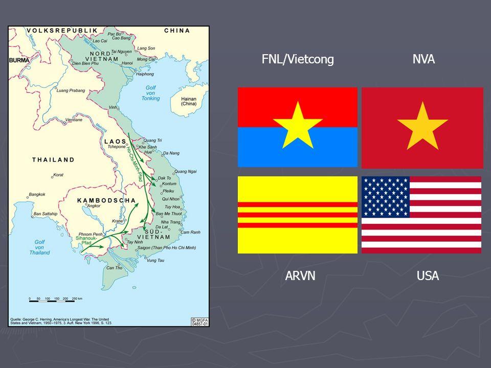 FNL/Vietcong NVA ARVN USA