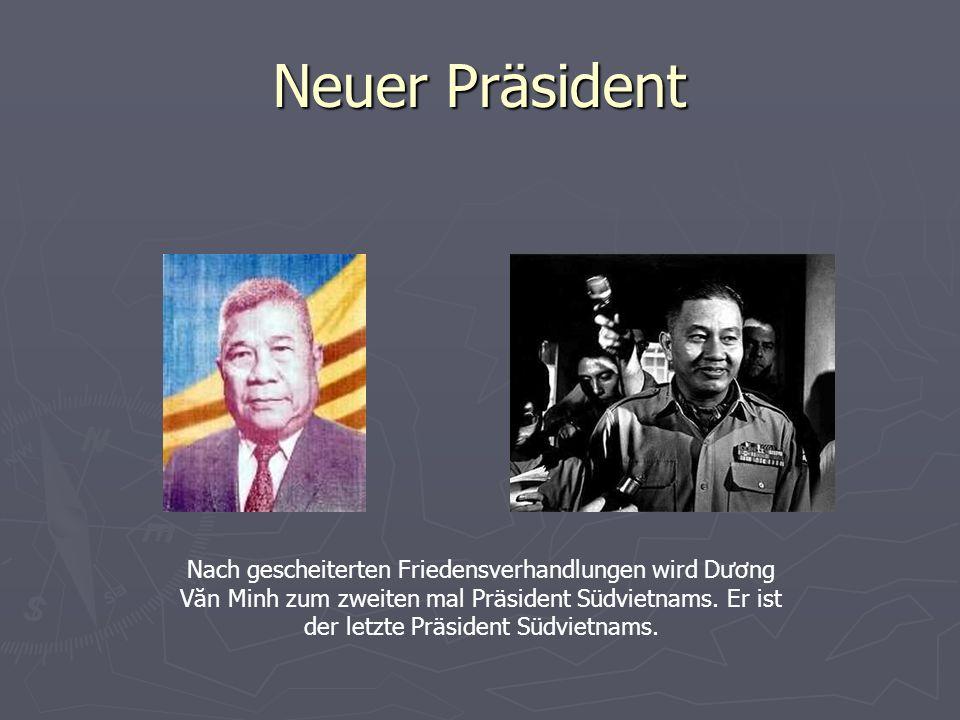 Neuer Präsident