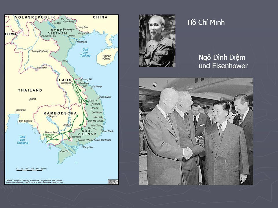 Hồ Chí Minh Ngô Đình Diệm und Eisenhower