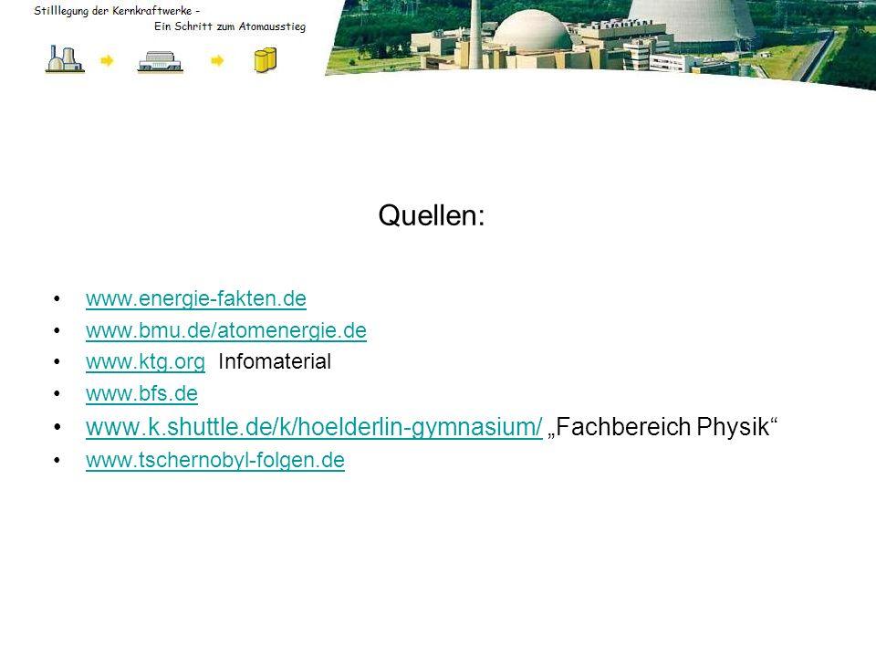 """Quellen: www.k.shuttle.de/k/hoelderlin-gymnasium/ """"Fachbereich Physik"""
