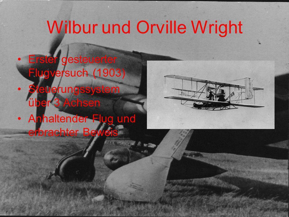 Wilbur und Orville Wright