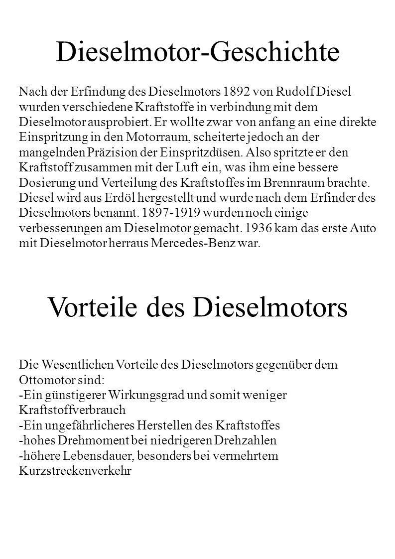 Dieselmotor-Geschichte