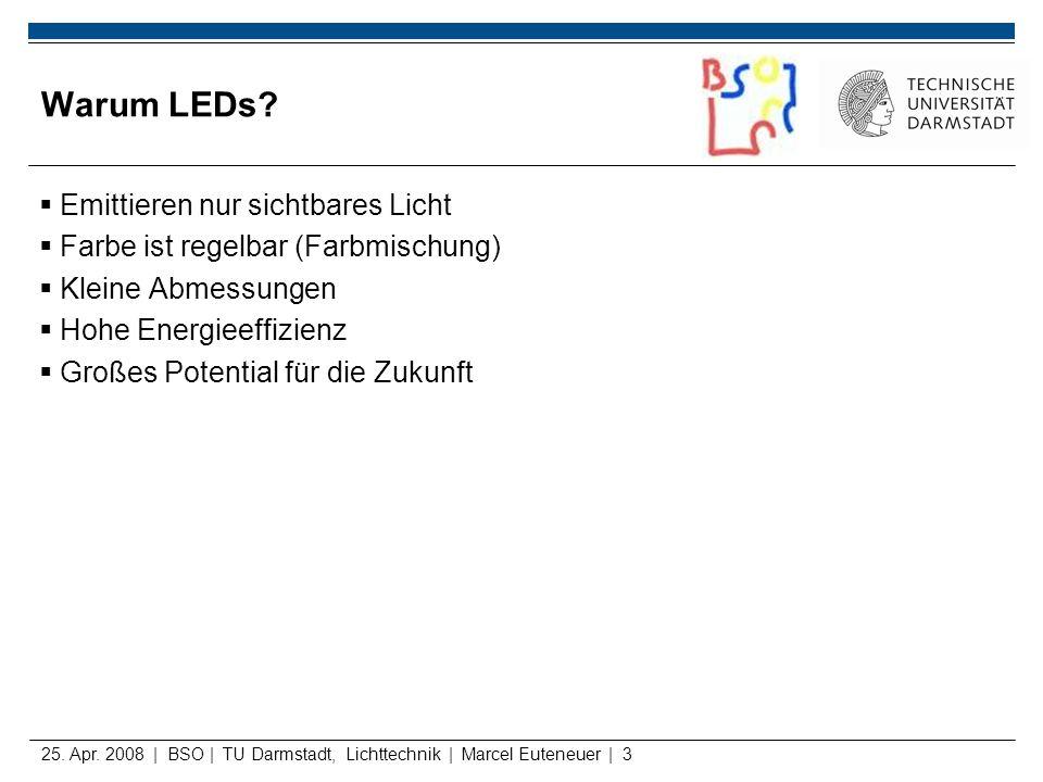 Warum LEDs Emittieren nur sichtbares Licht
