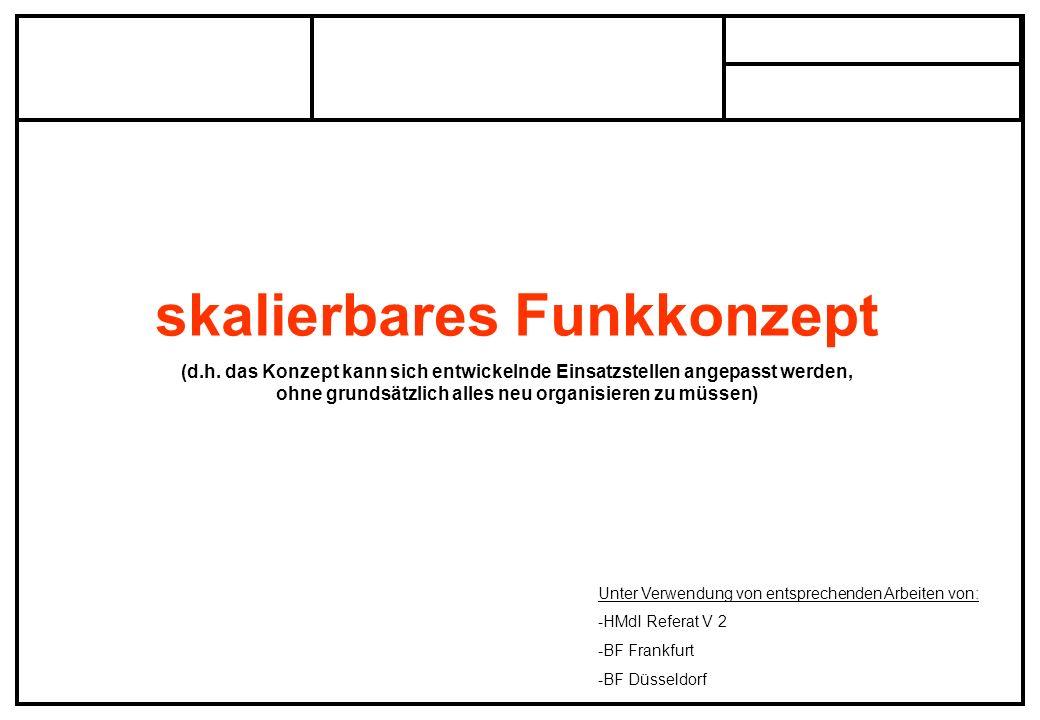 skalierbares Funkkonzept