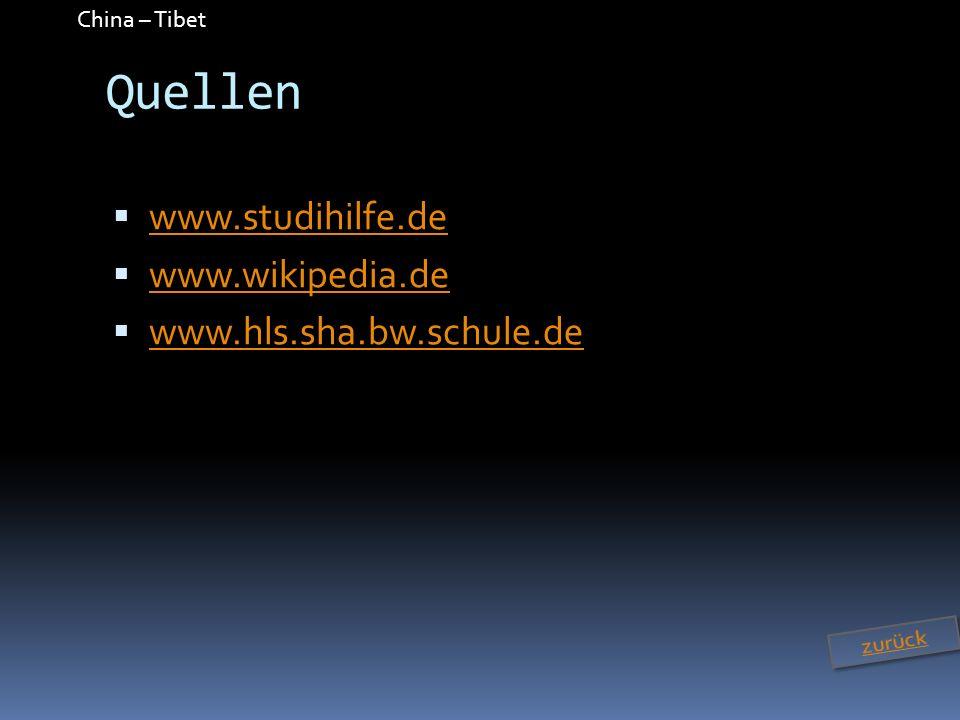Quellen www.studihilfe.de www.wikipedia.de www.hls.sha.bw.schule.de