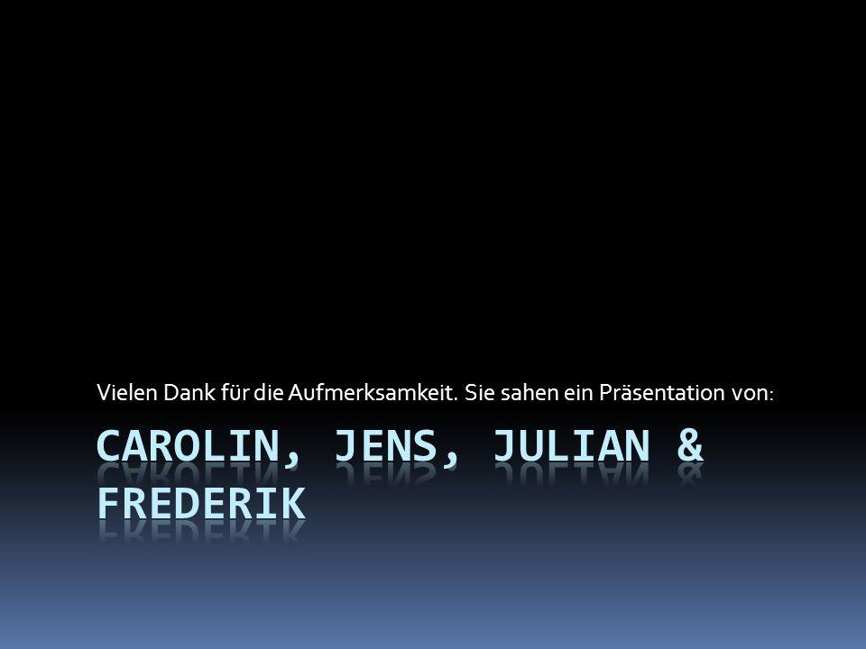 Carolin, Jens, Julian & Frederik