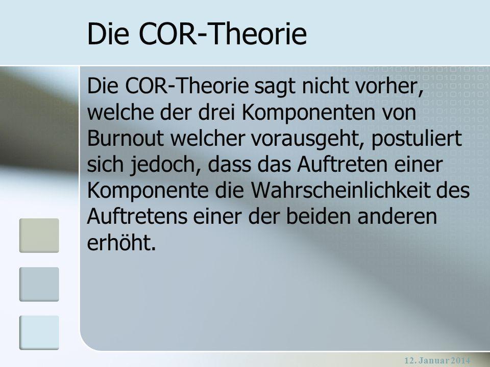 Die COR-Theorie