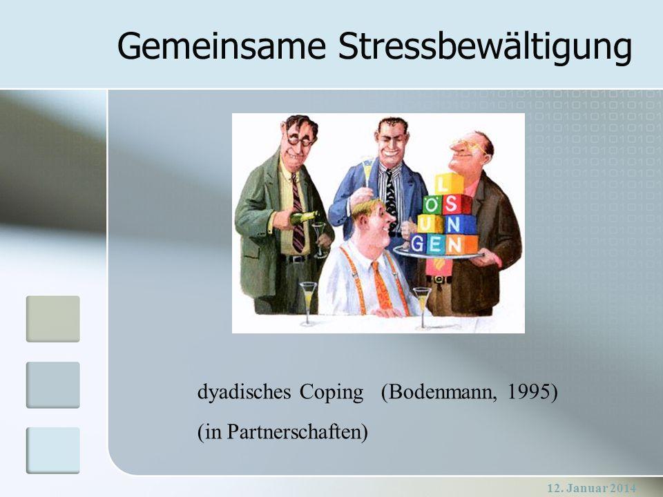Gemeinsame Stressbewältigung