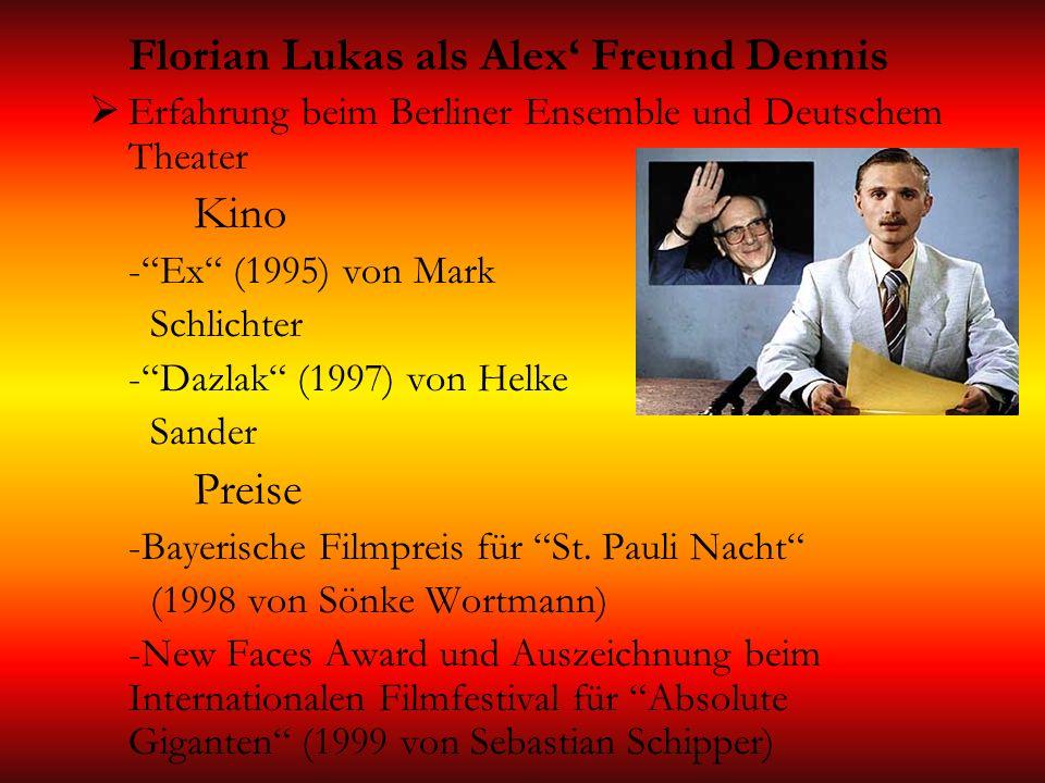 Florian Lukas als Alex' Freund Dennis