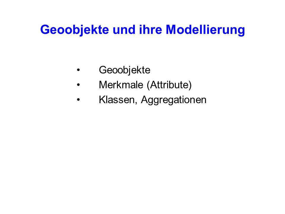 Geoobjekte und ihre Modellierung