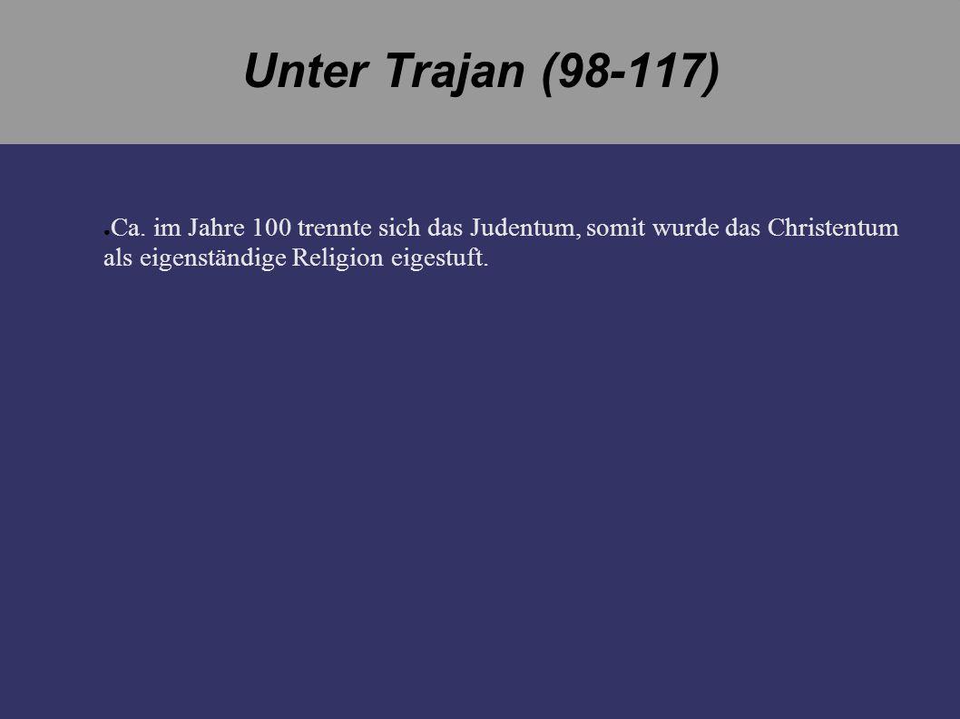 Unter Trajan (98-117) Ca.