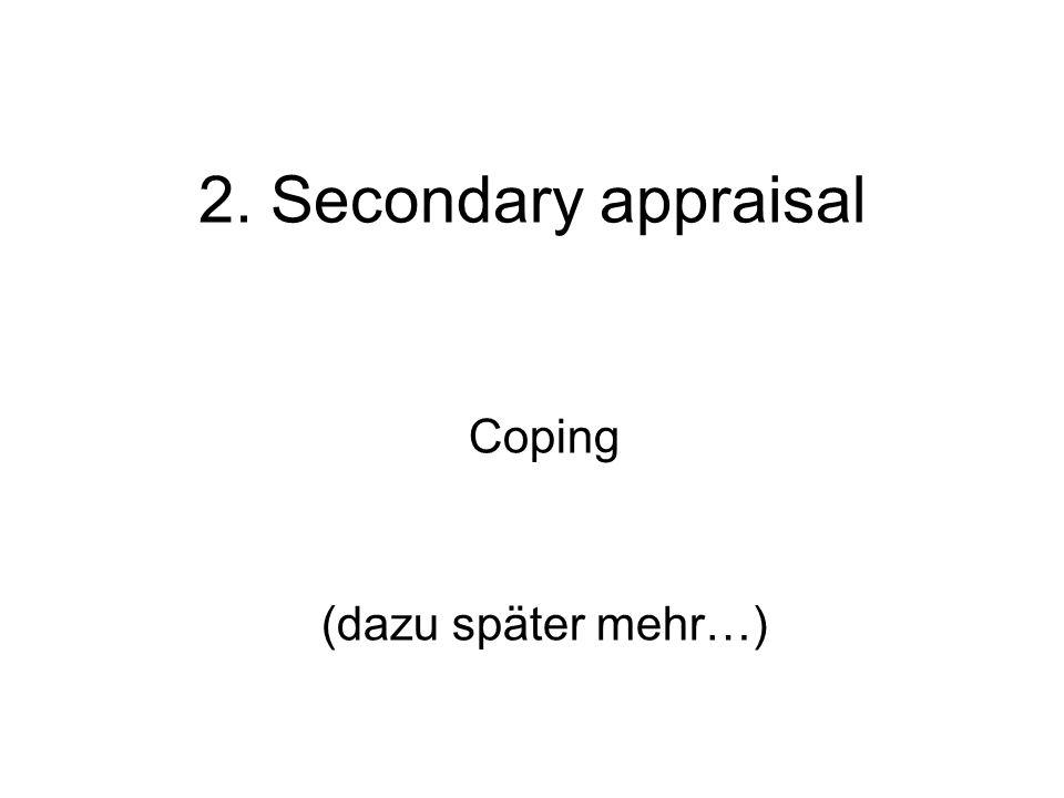 Coping (dazu später mehr…)
