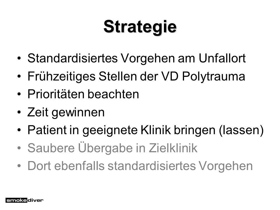 Strategie Standardisiertes Vorgehen am Unfallort