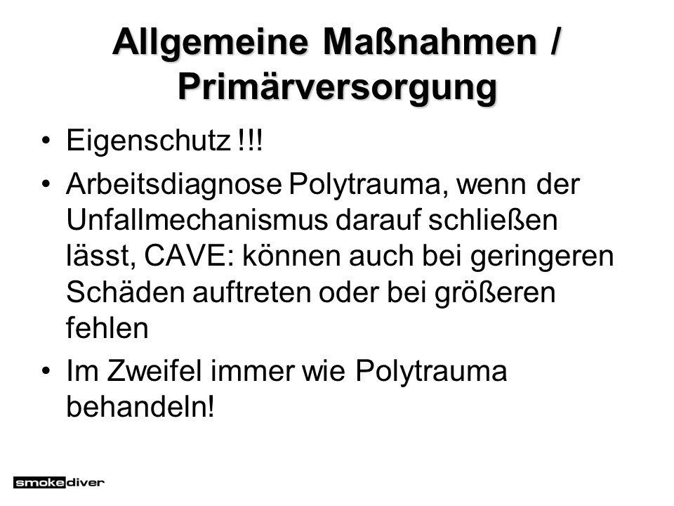 Allgemeine Maßnahmen / Primärversorgung