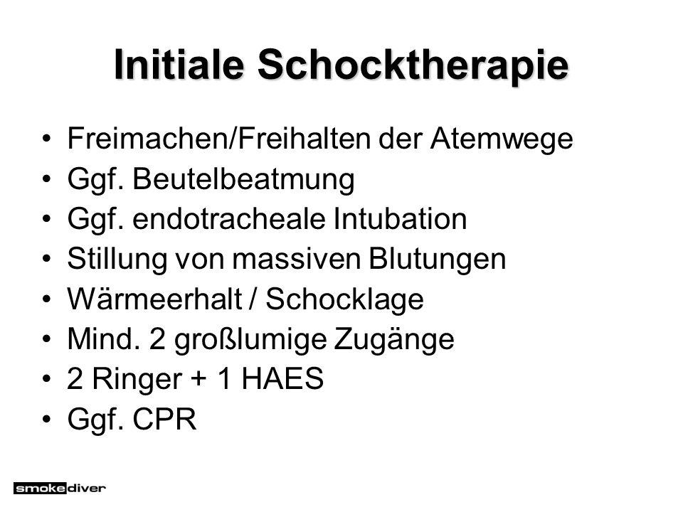 Initiale Schocktherapie