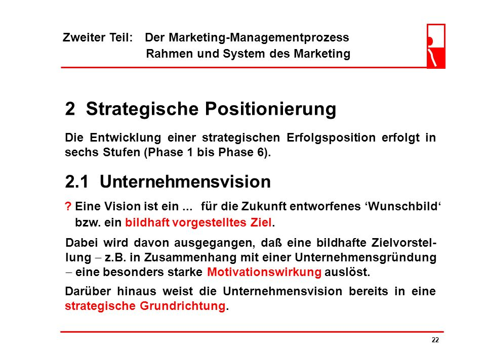 2 Strategische Positionierung