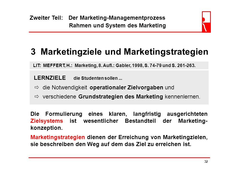 3 Marketingziele und Marketingstrategien