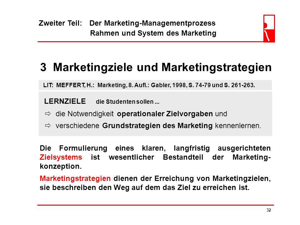 3 Marketingziele und Marketingstrategien