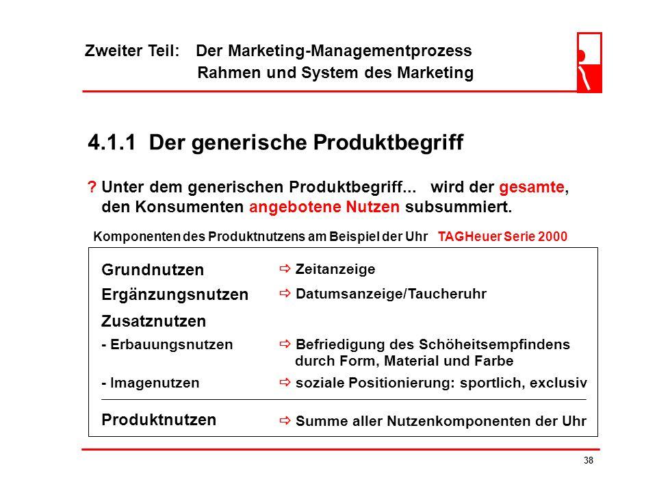 4.1.1 Der generische Produktbegriff