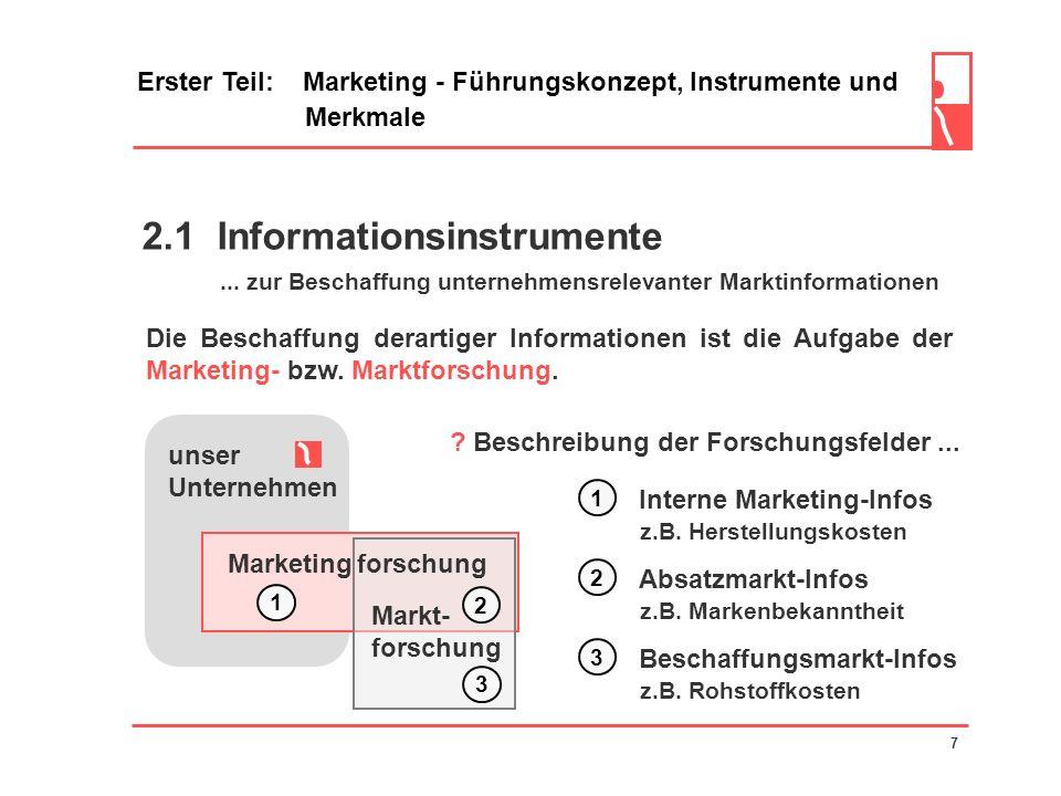 2.1 Informationsinstrumente