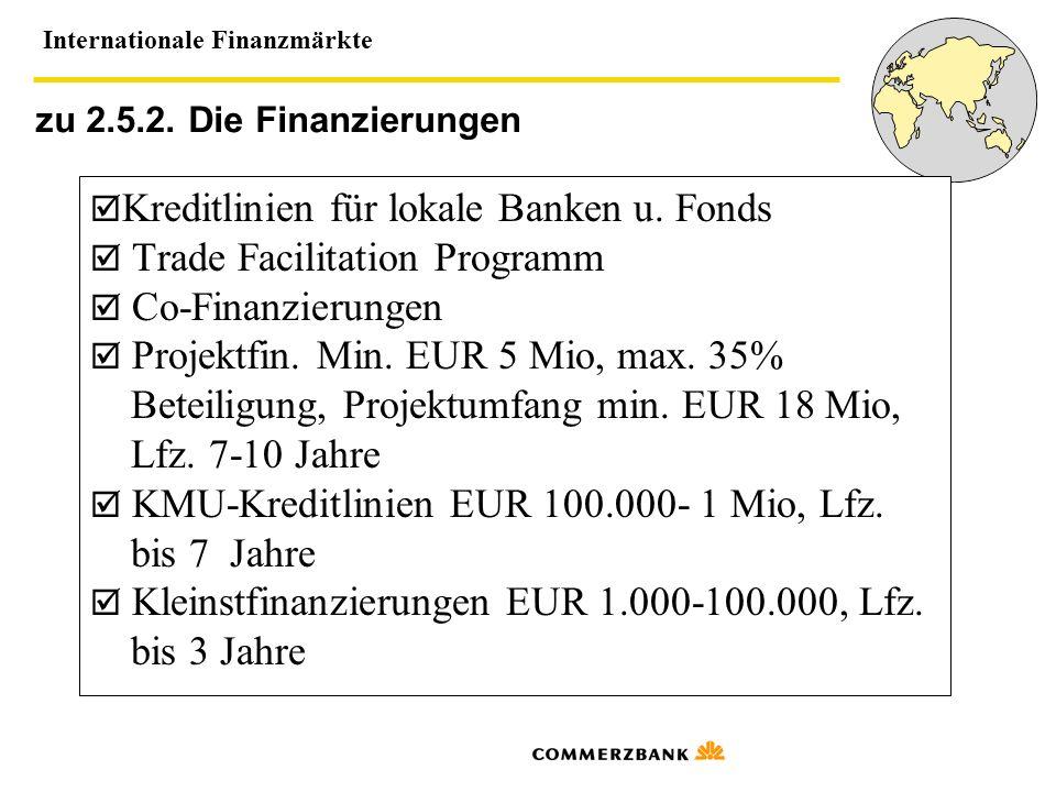 Beteiligung, Projektumfang min. EUR 18 Mio, Lfz. 7-10 Jahre