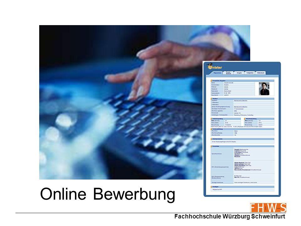 Online Bewerbung