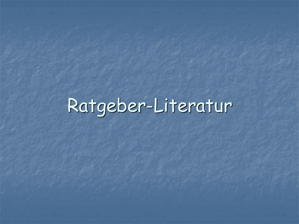 Ratgeber-Literatur