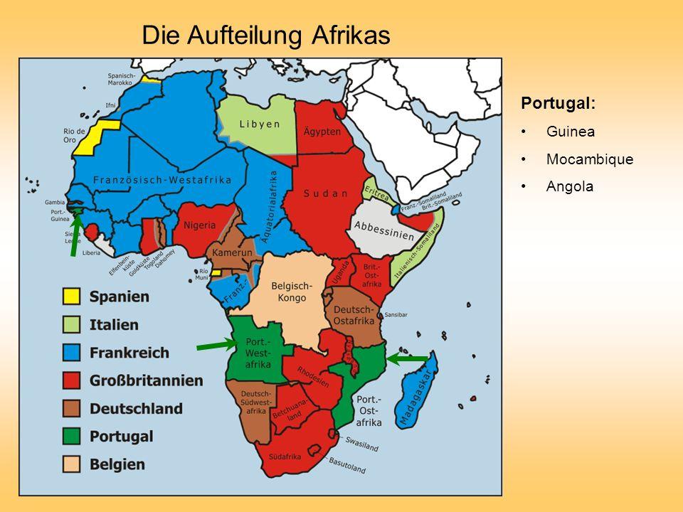 Die Aufteilung Afrikas