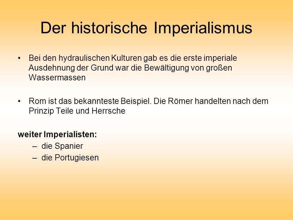 Der historische Imperialismus