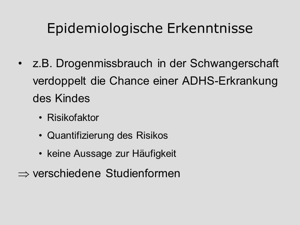 Epidemiologische Erkenntnisse