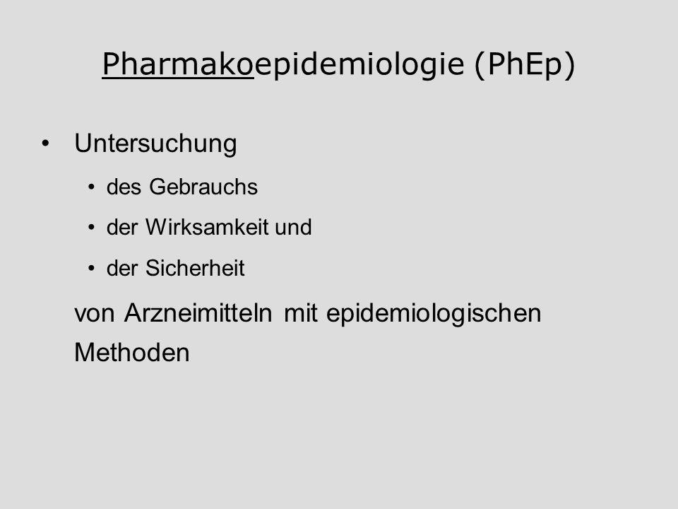 Pharmakoepidemiologie (PhEp)