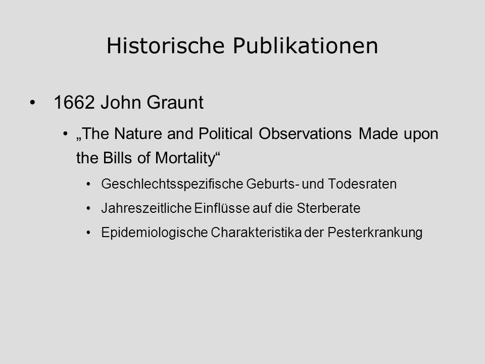 Historische Publikationen