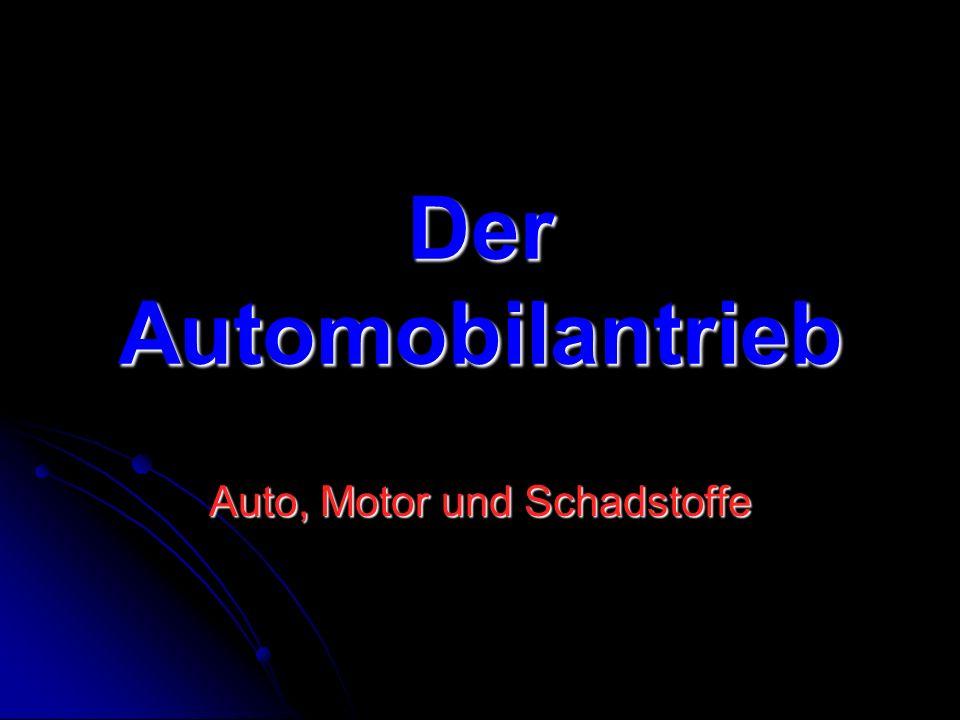 Auto, Motor und Schadstoffe