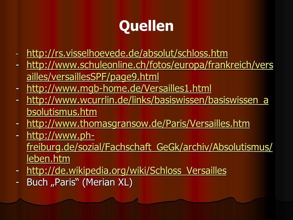 Quellen http://rs.visselhoevede.de/absolut/schloss.htm