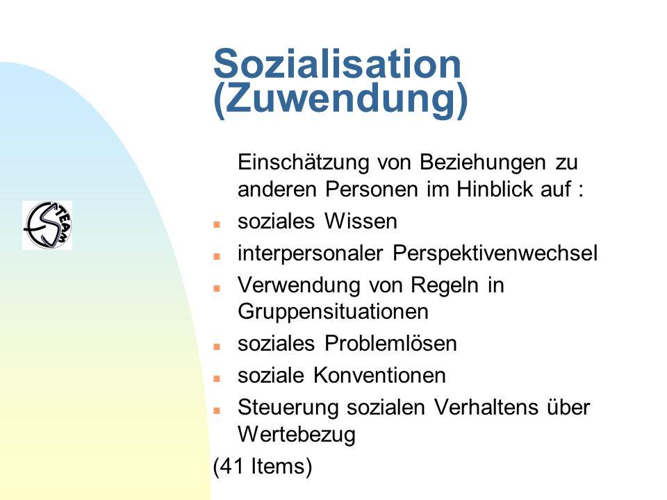 Sozialisation (Zuwendung)