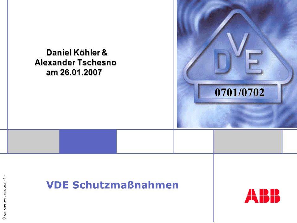 Daniel Köhler & Alexander Tschesno am 26.01.2007