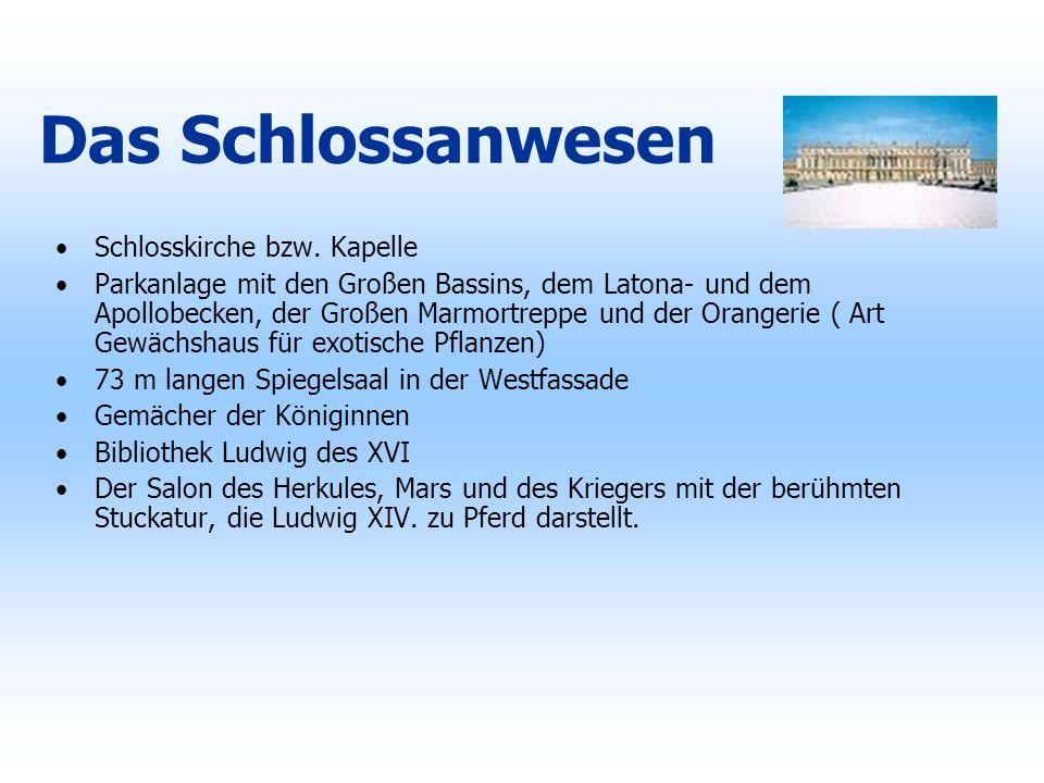 Das Schlossanwesen Schlosskirche bzw. Kapelle