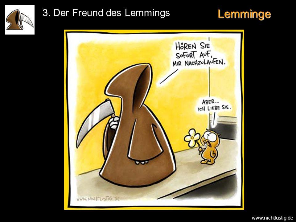 3. Der Freund des Lemmings