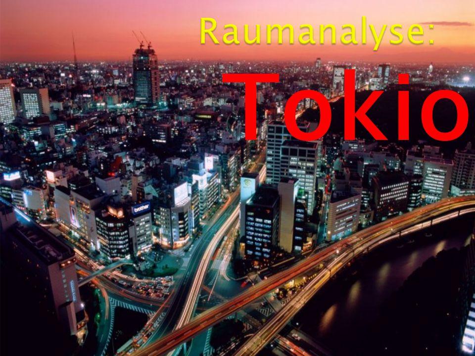 Raumanalyse: Tokio