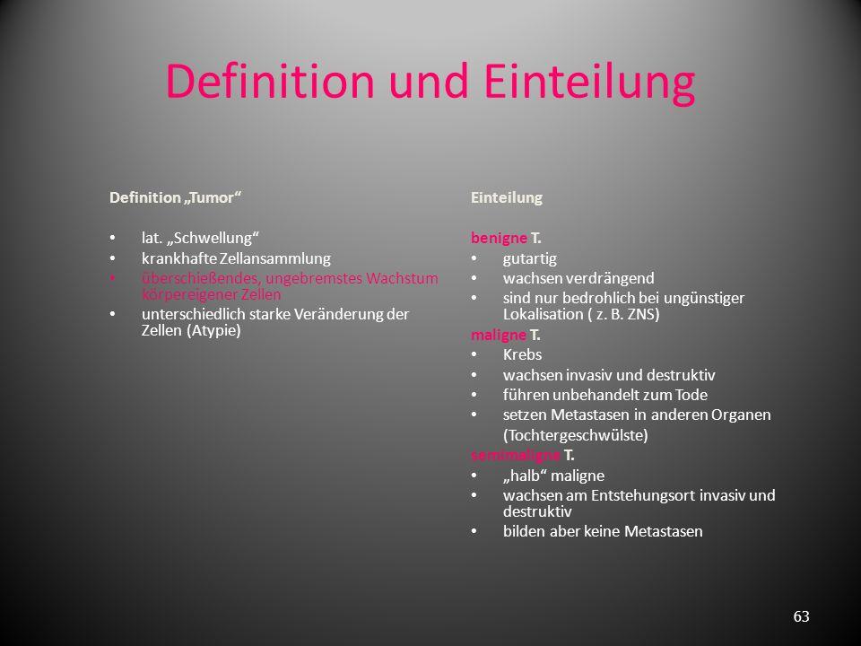 Definition und Einteilung