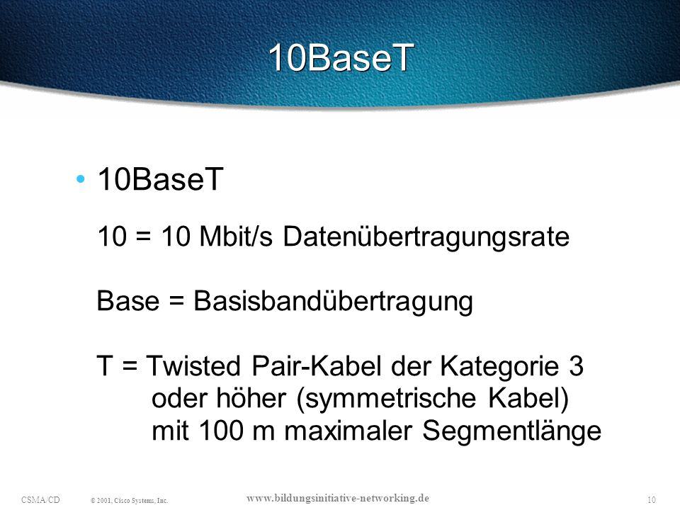 10BaseT