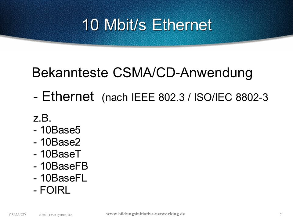 10 Mbit/s Ethernet