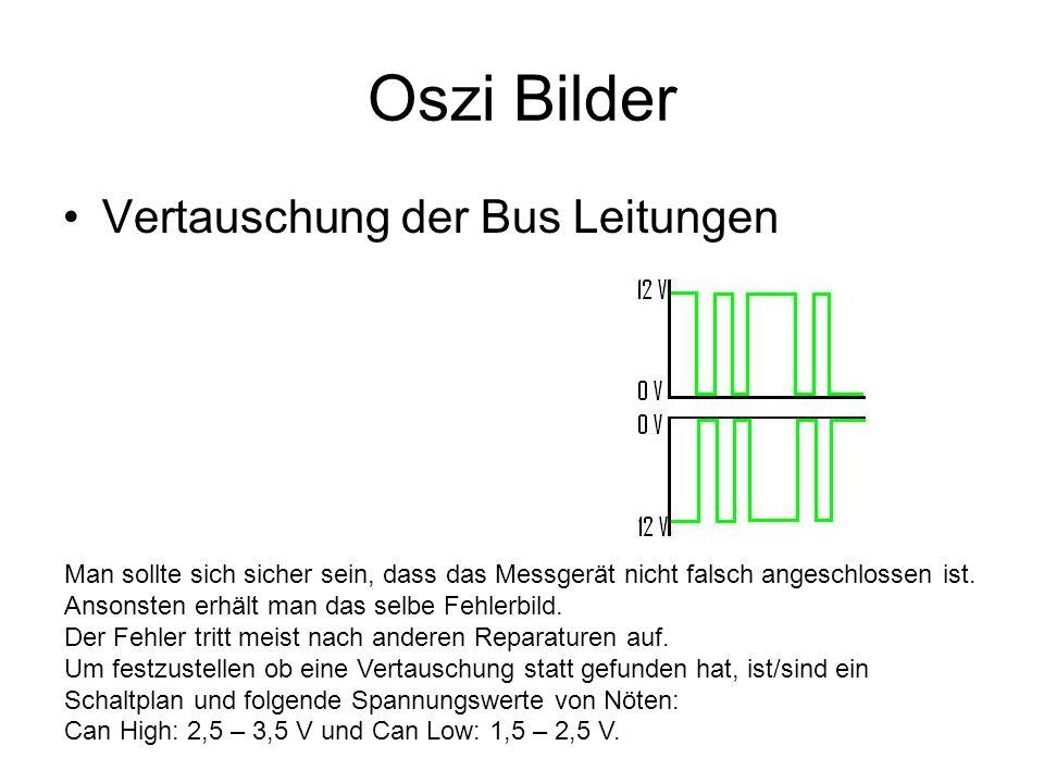 Oszi Bilder Vertauschung der Bus Leitungen
