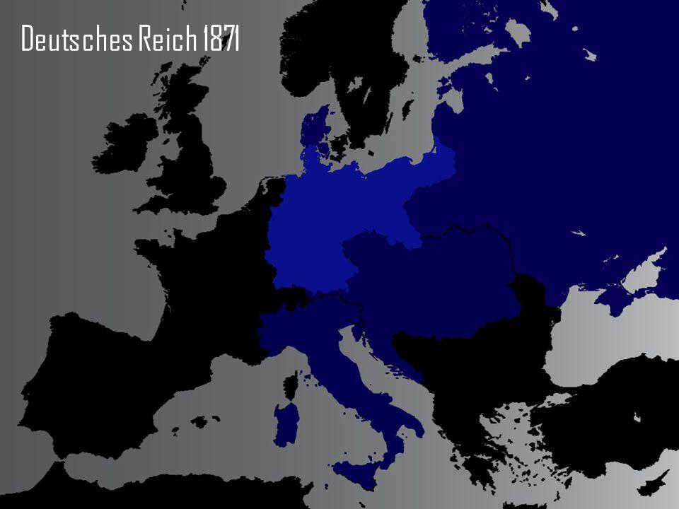 Deutsches Reich 1871 Karte