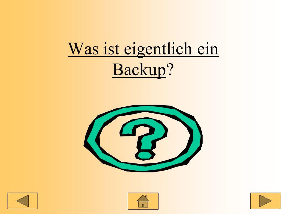 Was ist eigentlich ein Backup