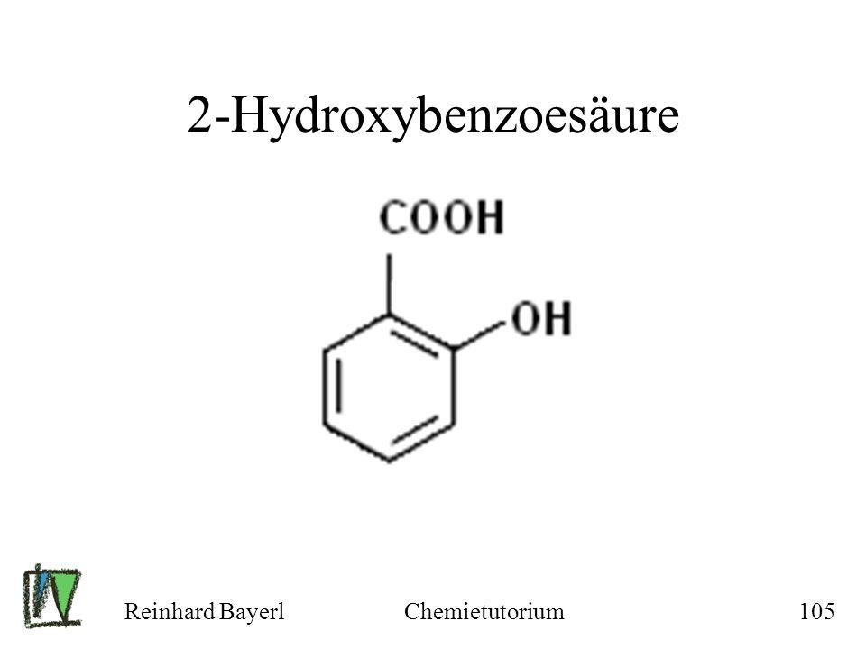 2-Hydroxybenzoesäure Reinhard Bayerl Chemietutorium