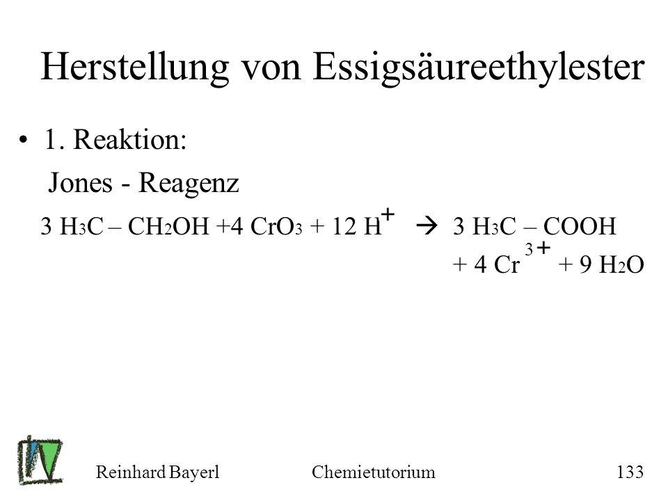 Herstellung von Essigsäureethylester